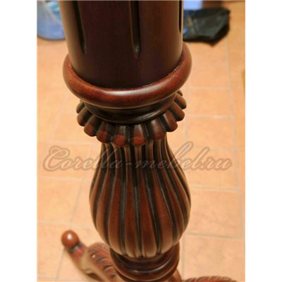 Вешалка для одежды напольная деревянная