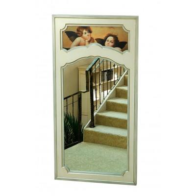 Зеркало напольное деревянное Прованс