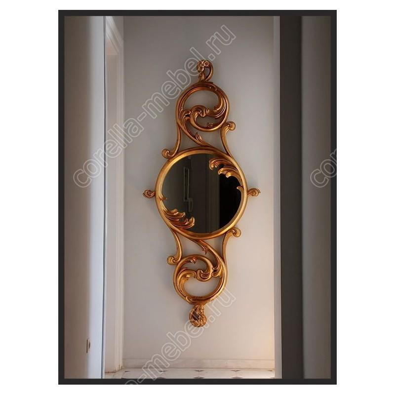 Зеркало настенное узкое