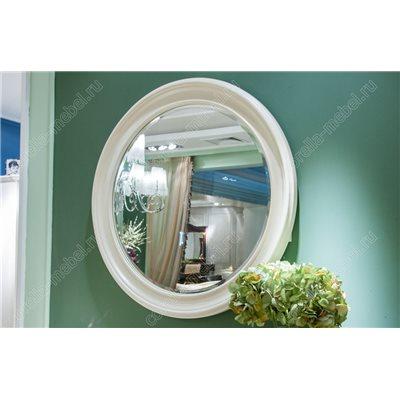 Круглое зеркало прованс