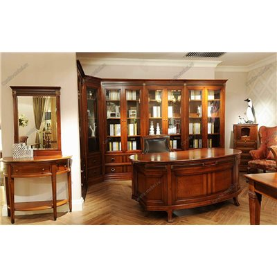 Книжный шкаф для дома двухдверный (левый, правый)